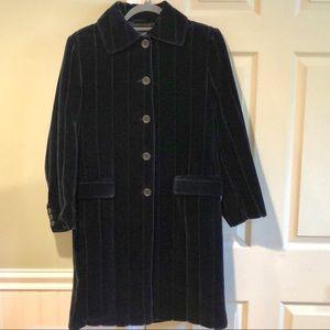 Exquisite Cavalerri I Pinco Pallino Velvet Coat